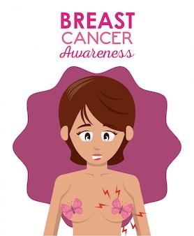 Cartaz de câncer de mama