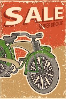 Cartaz de ciclismo pessoas