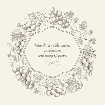 Cartaz de desenho abstrato decorativo natural