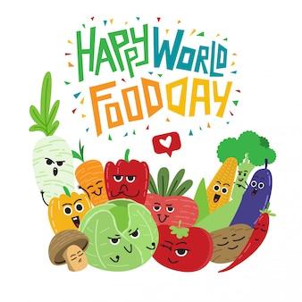 Cartaz de dia mundial da comida