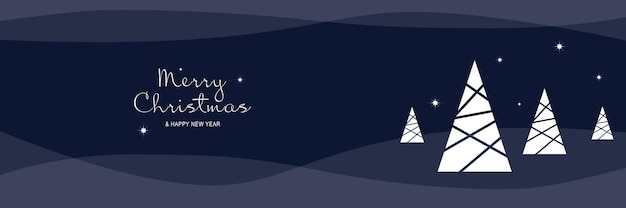 Cartaz de feliz natal e ano novo de 2022 banner mínimo de natal com símbolos de feriado festivo