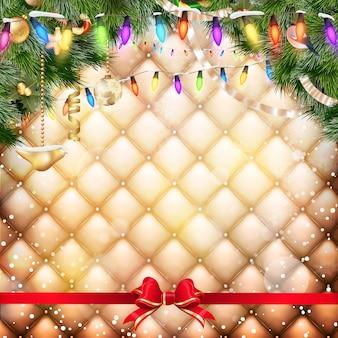 Cartaz de festa de natal.