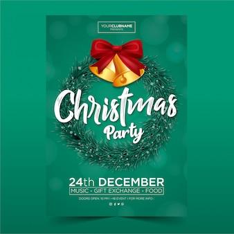 Cartaz de festa de natal