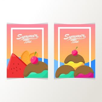 Cartaz de horário de verão