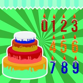 Cartaz de modelo de cartão de festa feliz aniversário convite e balão