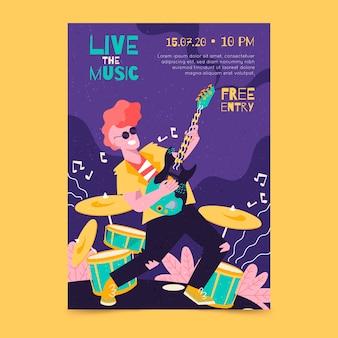 Cartaz de música