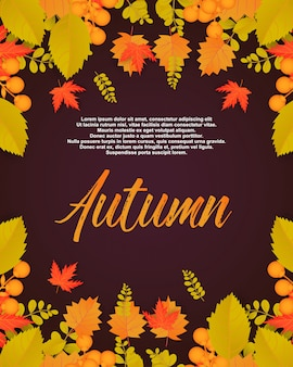 Cartaz de outono