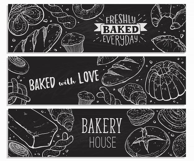 Cartaz de pão fresco