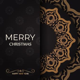 Cartaz de saudação feliz ano novo e feliz natal branco com enfeites de inverno.