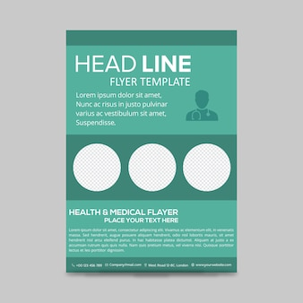 Cartaz de saúde