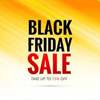 Cartaz de venda de fundo preto sexta-feira