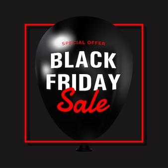 Cartaz de venda final da black friday