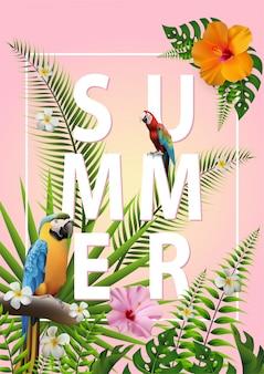Cartaz de verão