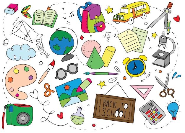 Cartaz de volta à escola