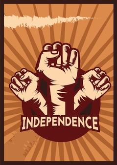 Cartaz do dia da independência
