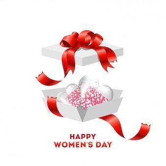Cartaz do dia da mulher feliz
