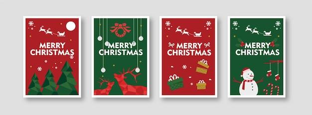 Cartaz do dia de natal para decoração