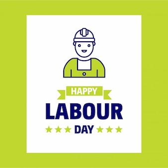 Cartaz do dia de trabalho
