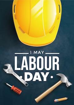 Cartaz do dia do trabalho