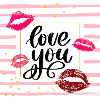 Cartaz do dia dos namorados, cartão, elementos de slogan da carta do banner para elementos de design do dia dos namorados