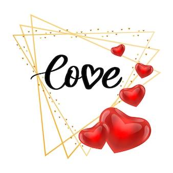 Cartaz do dia dos namorados, cartão, etiqueta, elementos de slogan da carta do banner para elementos de design do dia dos namorados
