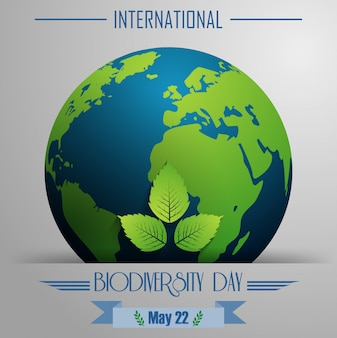 Cartaz do dia internacional da biodiversidade