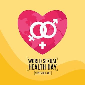 Cartaz do dia mundial da saúde sexual