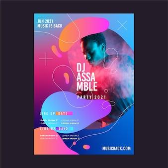 Cartaz do evento de música