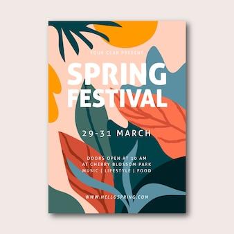 Cartaz do festival de primavera