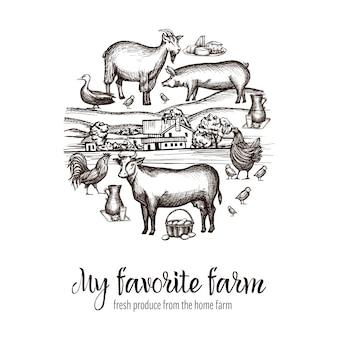 Cartaz do mercado dos fazendeiros