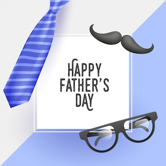 Cartaz feliz da celebração do dia de pai