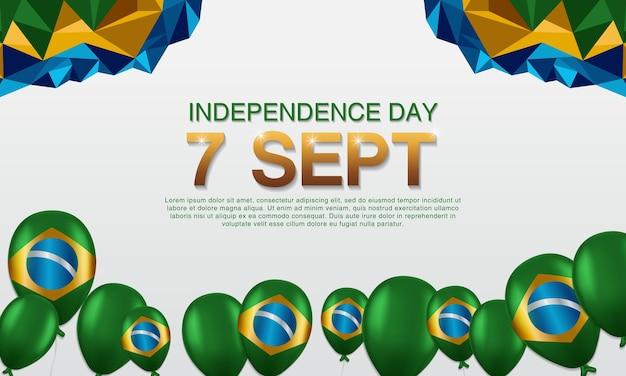 Cartazes do dia da independência do brasil