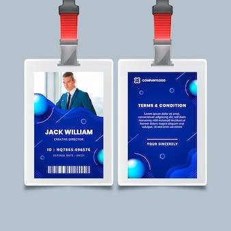Carteira de identidade comercial geral