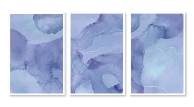 Cartões aquarela