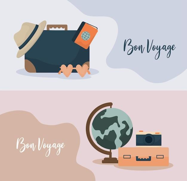 Cartões bon voyage