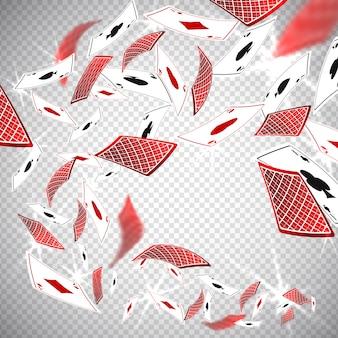 Cartões de casino de poker clássico de holdem