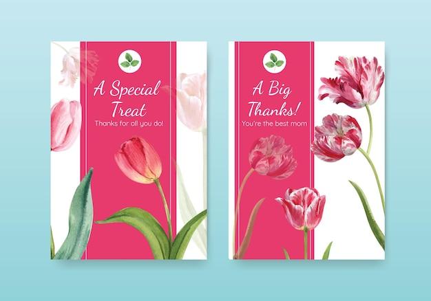 Cartões de feliz dia das mães