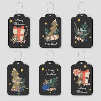 Cartões de natal feliz natal