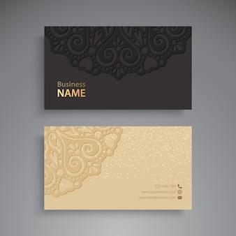 Cartões de negócios