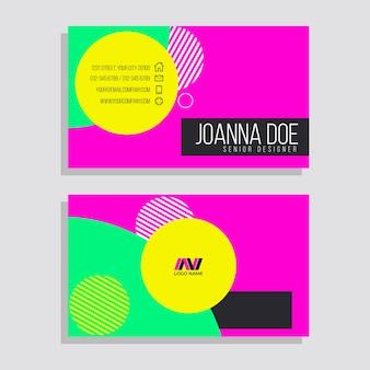 Cartões de néon