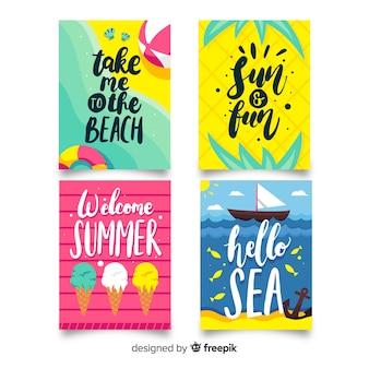 Cartões de verão
