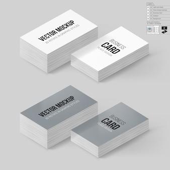 Cartões de visita de marca