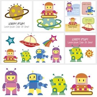 Cartões robot