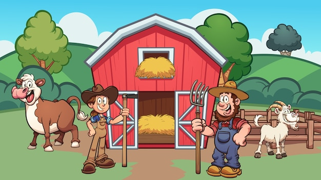 Cartoon_farm