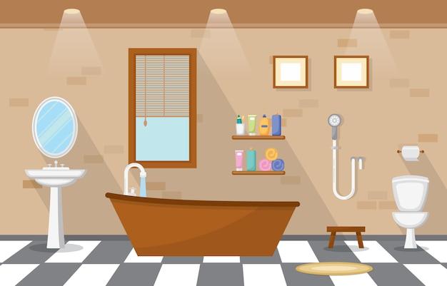 Casa de banho mobilada