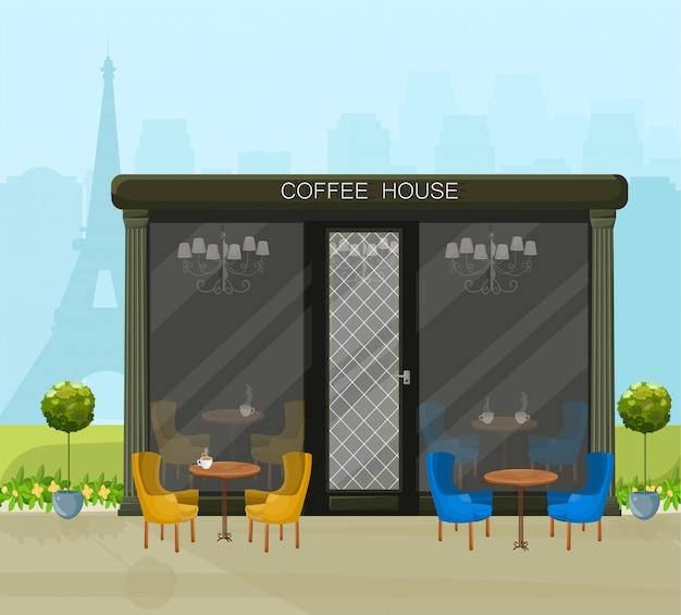 Casa de café moderna
