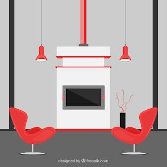 Casa decoração moderna
