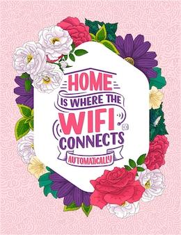 Casa é onde o wi-fi se conecta automaticamente