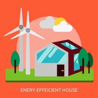 Casa energeticamente eficiente