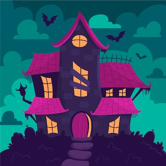 Casa festival de halloween
